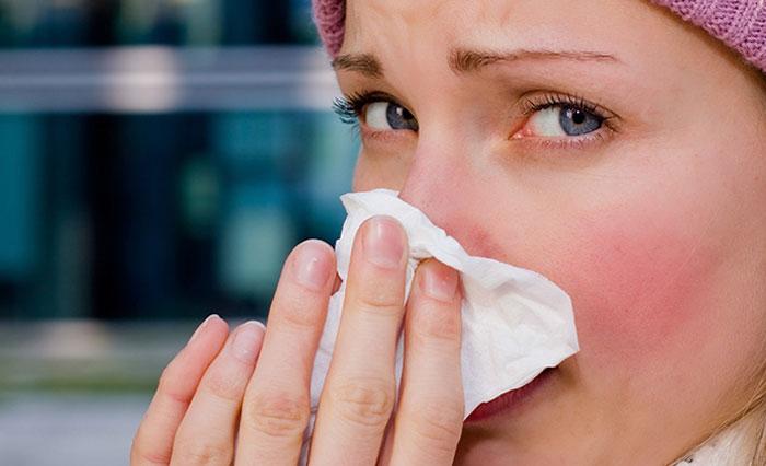 Raffreddore, tosse, febbre e mal di gola